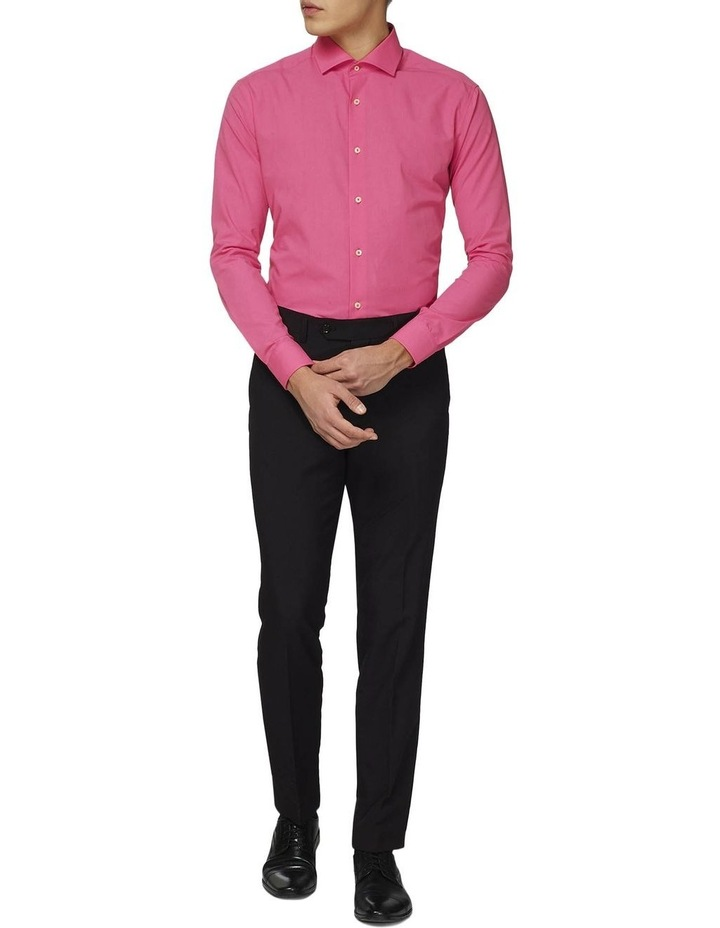 Men's Mr. Pink Solid Color Shirt image 1