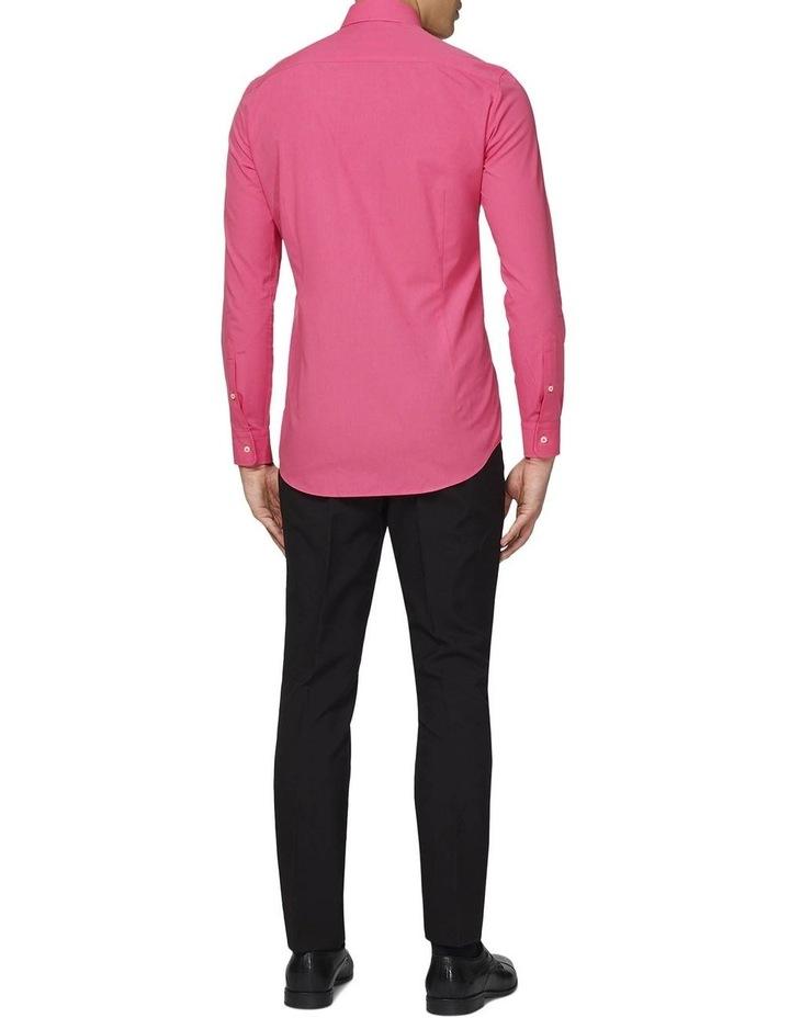 Men's Mr. Pink Solid Color Shirt image 2