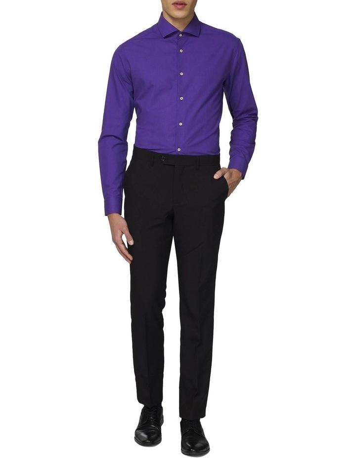 Men's Purple Prince Solid Color Shirt image 1