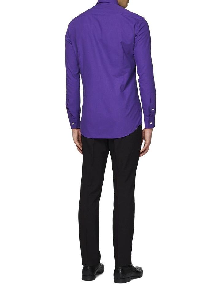 Men's Purple Prince Solid Color Shirt image 2