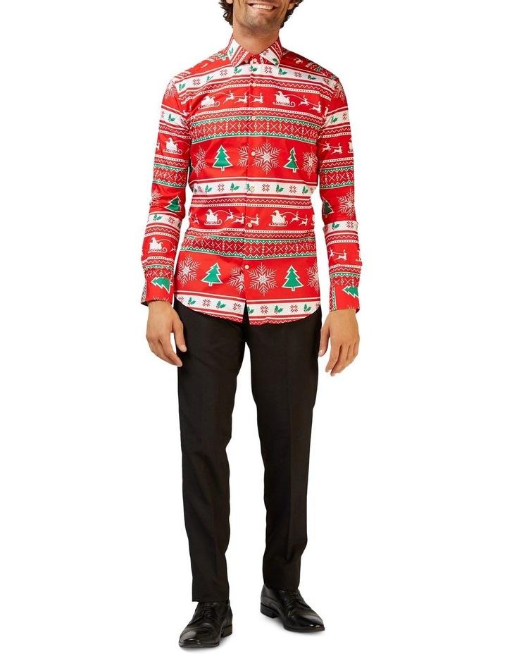 Men's Winter Wonderland Christmas Shirt image 1