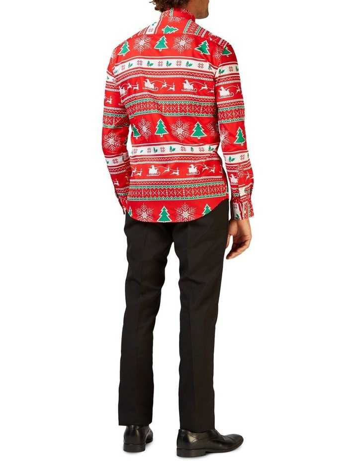 Men's Winter Wonderland Christmas Shirt image 2