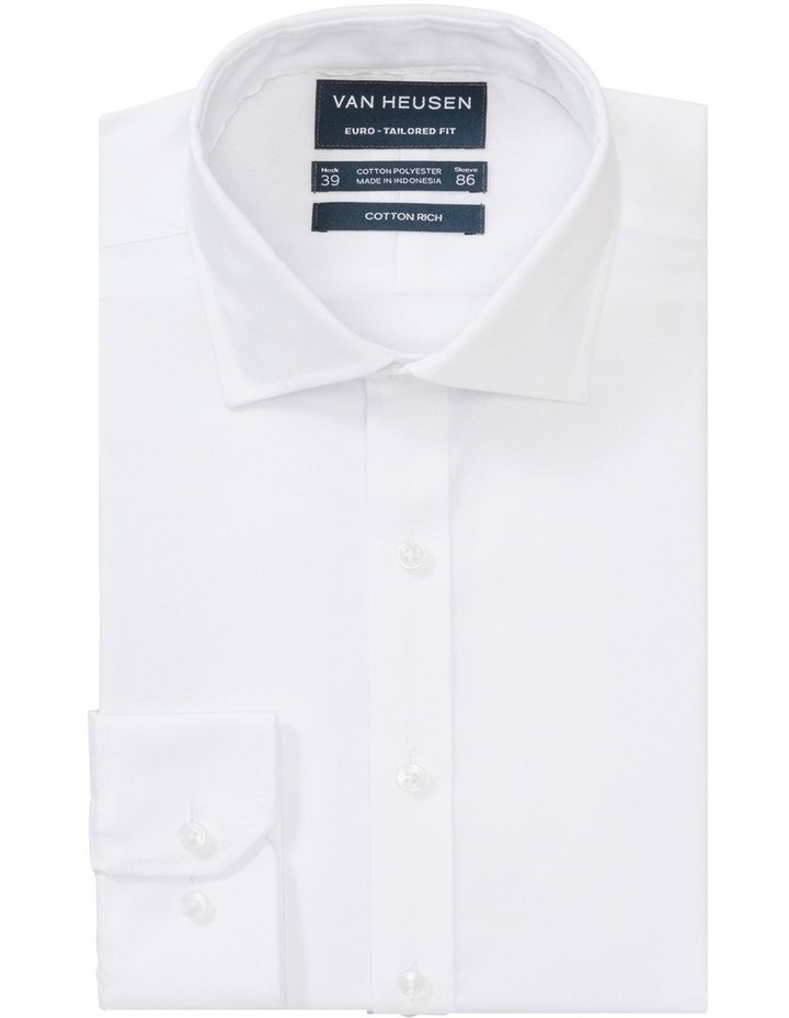 Textured Stripe Business Shirt image 1