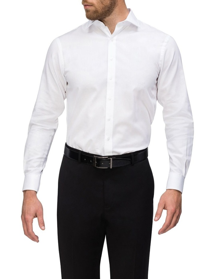 Textured Stripe Business Shirt image 2