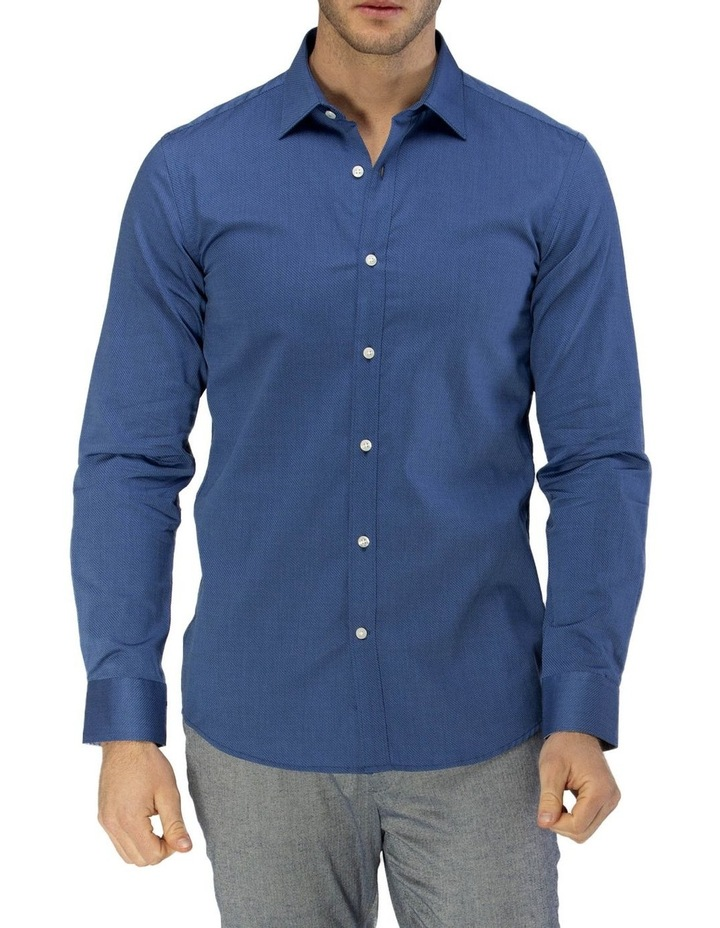 Career Textured Weave Business Shirt image 1