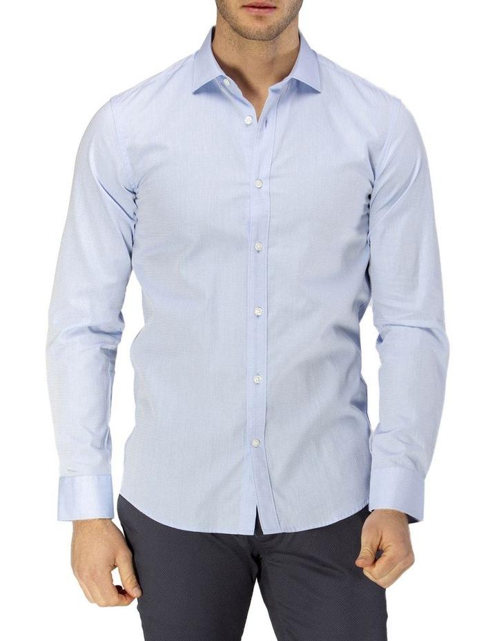 Career Abstract Diamond Weave Business Shirt image 1