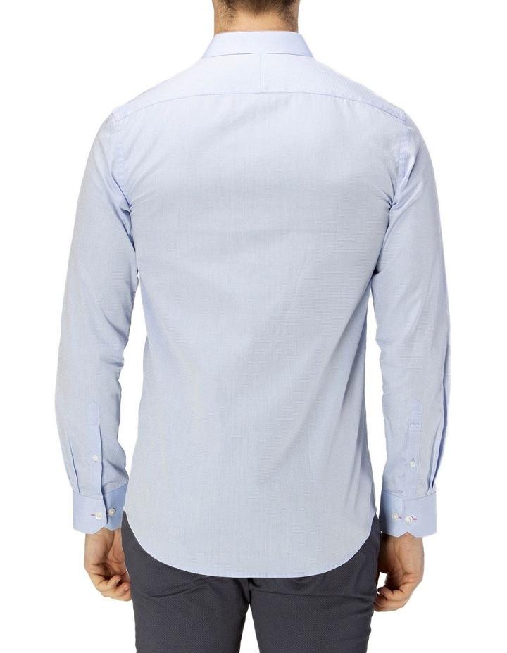 Career Abstract Diamond Weave Business Shirt image 3