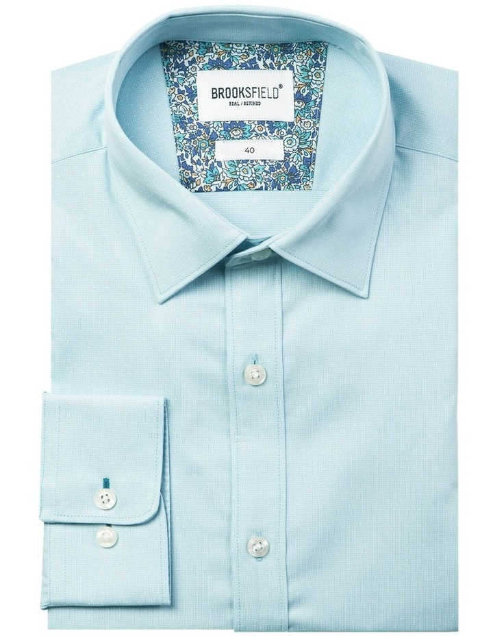 Career Floating Dot Dobby Business Shirt image 4