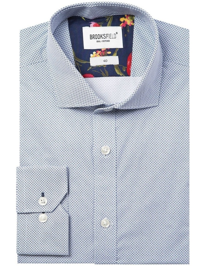 Career Micro Square Print Business Shirt image 4