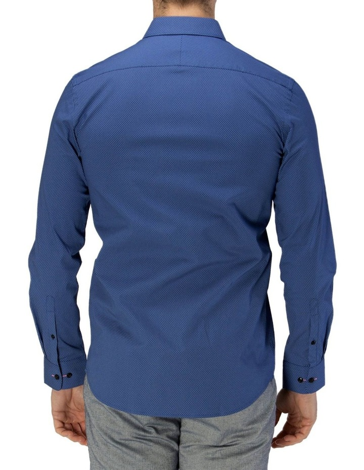 Career Micro Square Print Business Shirt image 3