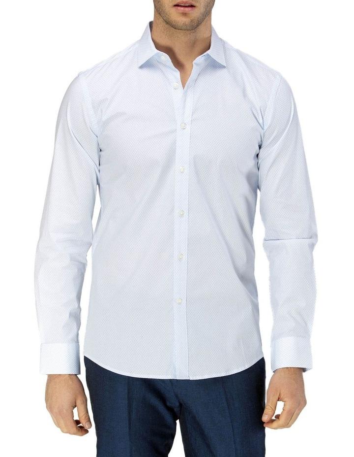 Career Fine Diamond Print Business Shirt image 1