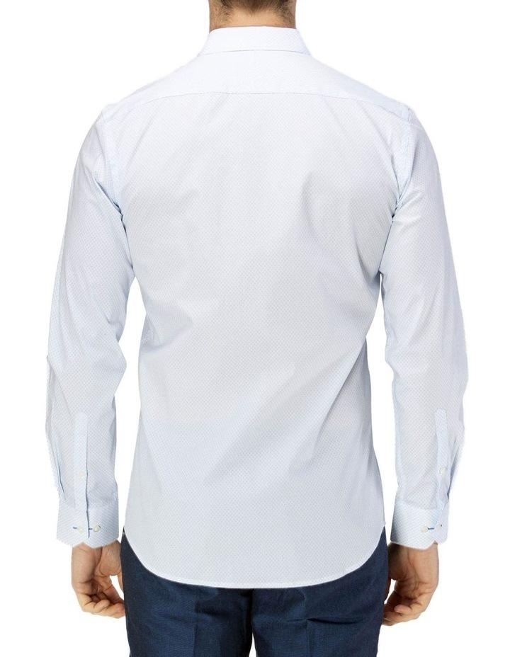 Career Fine Diamond Print Business Shirt image 3