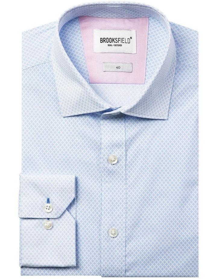 Career Fine Diamond Print Business Shirt image 4
