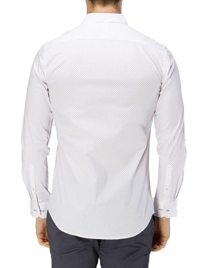 Career Abstract Print Business Shirt image 3