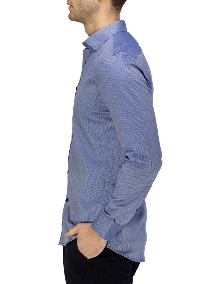 Luxe Diamond Textured Business Shirt image 2