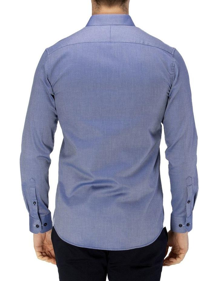 Luxe Diamond Textured Business Shirt image 3