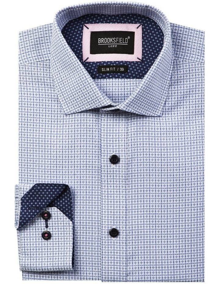 Luxe Textured Floating Dobby Weave Shirt image 4