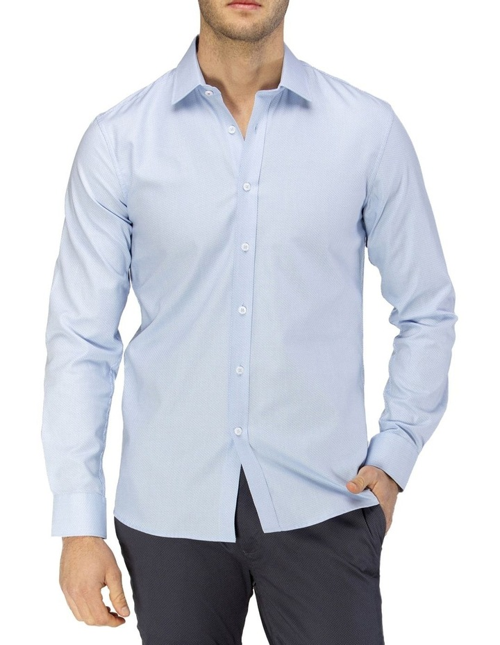 Luxe Two-Tone Textured Dobby Business Shirt image 1