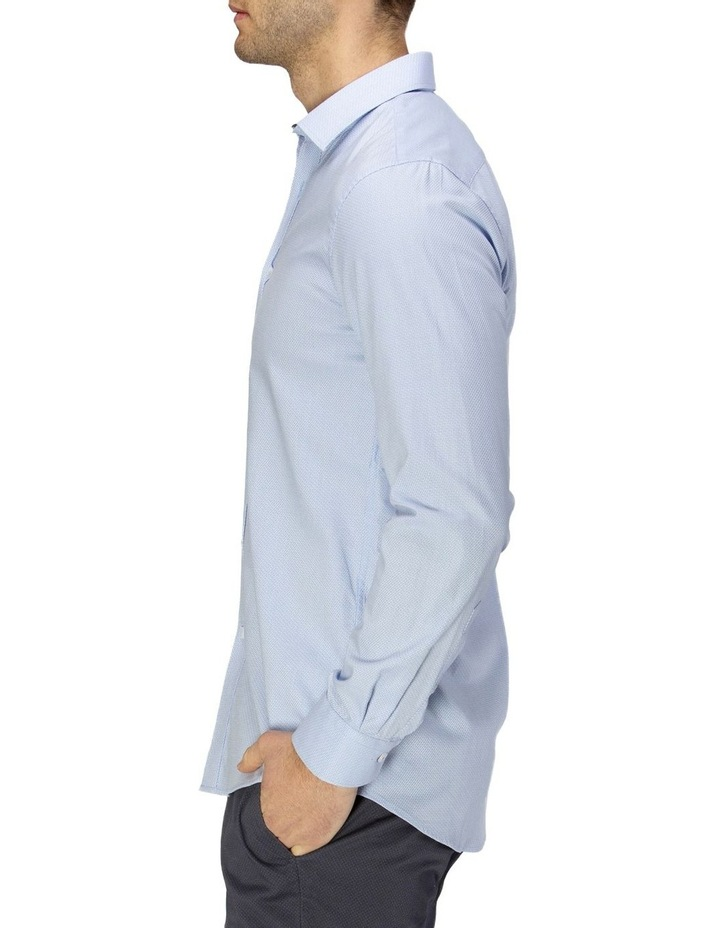 Luxe Two-Tone Textured Dobby Business Shirt image 2