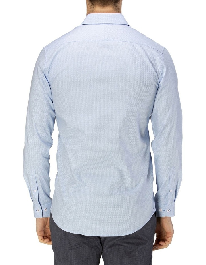 Luxe Two-Tone Textured Dobby Business Shirt image 3