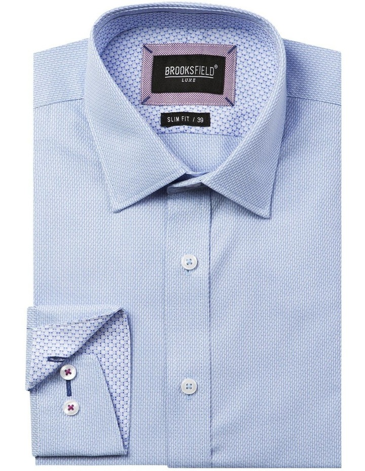 Luxe Two-Tone Textured Dobby Business Shirt image 4