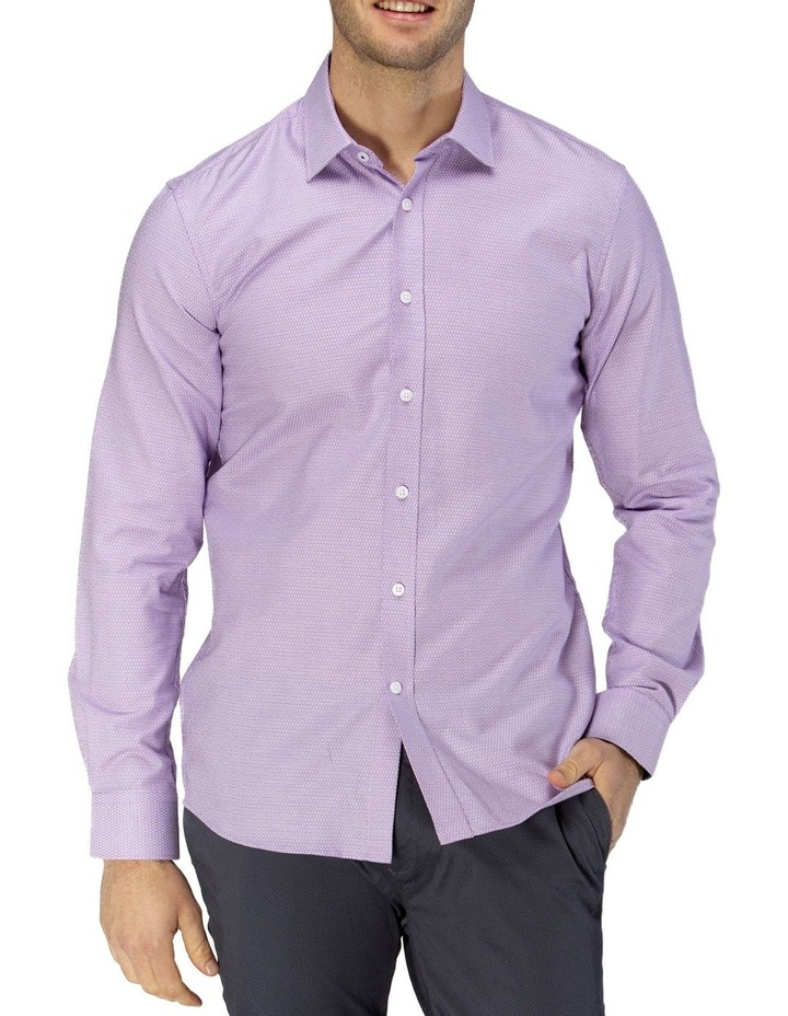 Luxe Three Tone Weave Business Shirt image 1