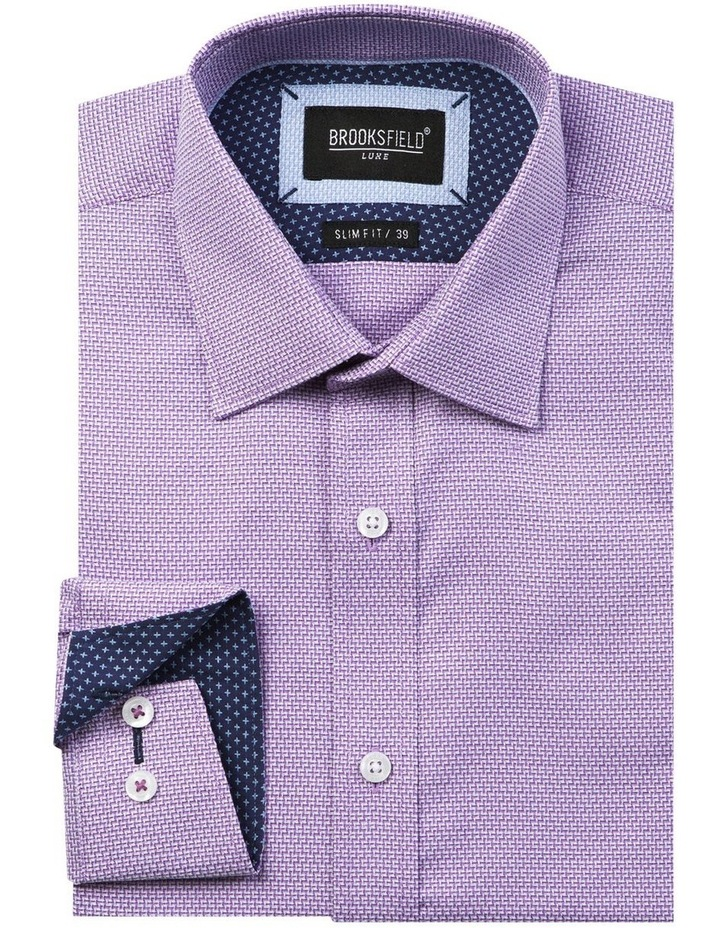 Luxe Three Tone Weave Business Shirt image 4