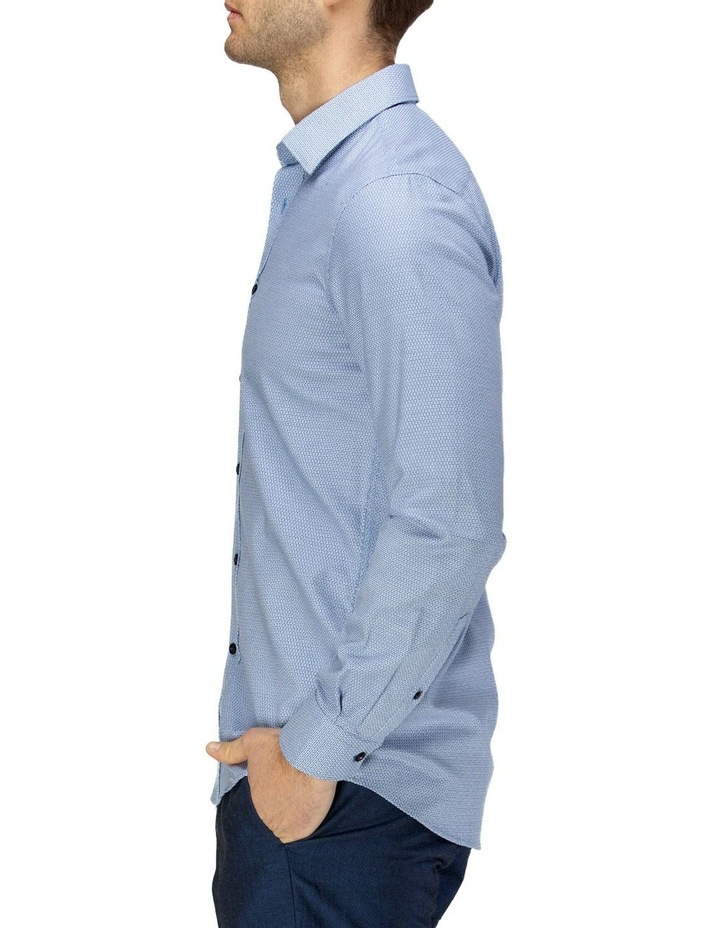 Luxe Three Tone Weave Business Shirt image 2