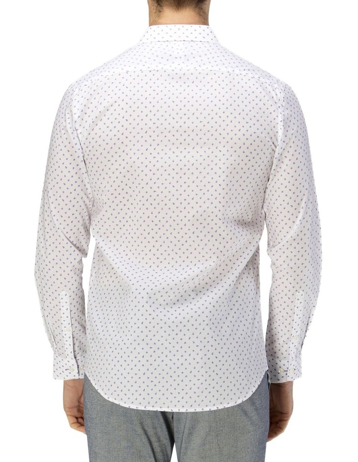 Luxe Scattered Flower Print Business Shirt image 3