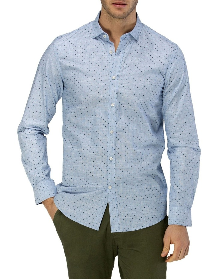 Luxe Flower Print Business Shirt image 1