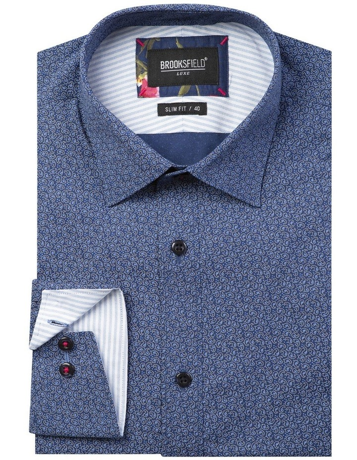 Luxe Dot Paisley Print Business Shirt image 4
