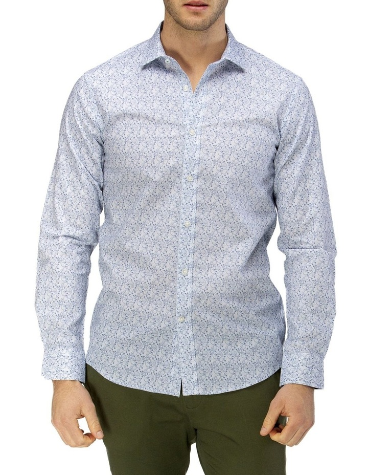 Luxe Paisley Print Business Shirt image 1