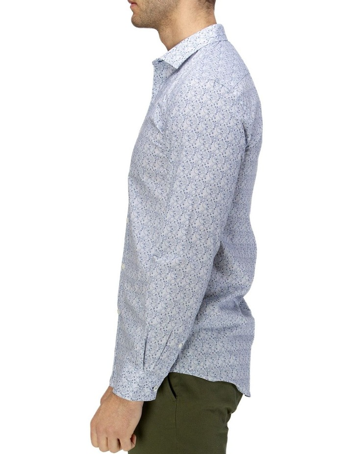 Luxe Paisley Print Business Shirt image 2
