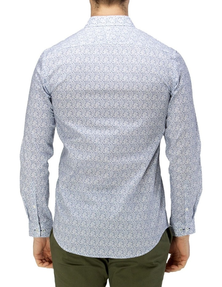 Luxe Paisley Print Business Shirt image 3