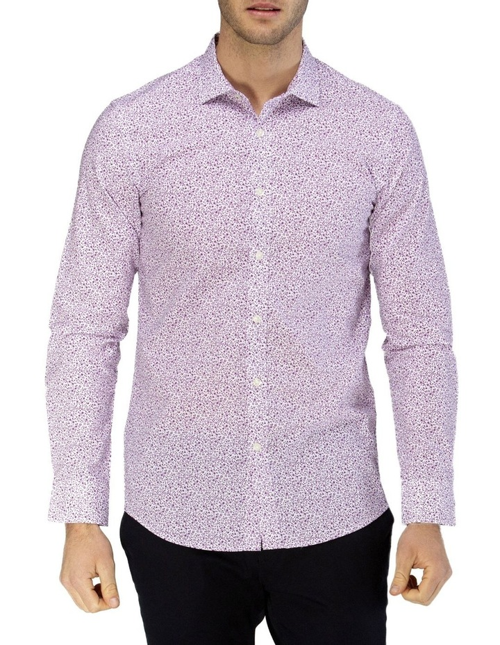 Luxe Vine Leaf Print Business Shirt image 1