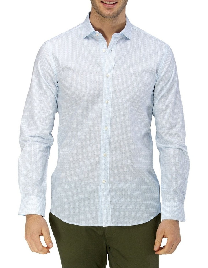 Luxe Geo Print Business Shirt image 1
