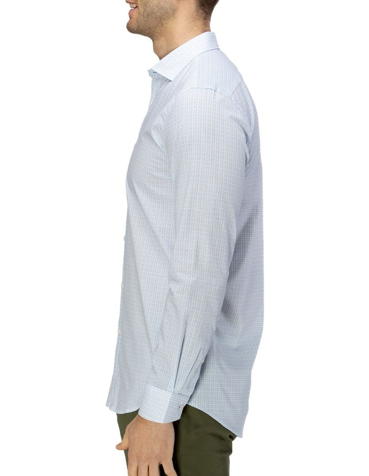 Luxe Geo Print Business Shirt image 2