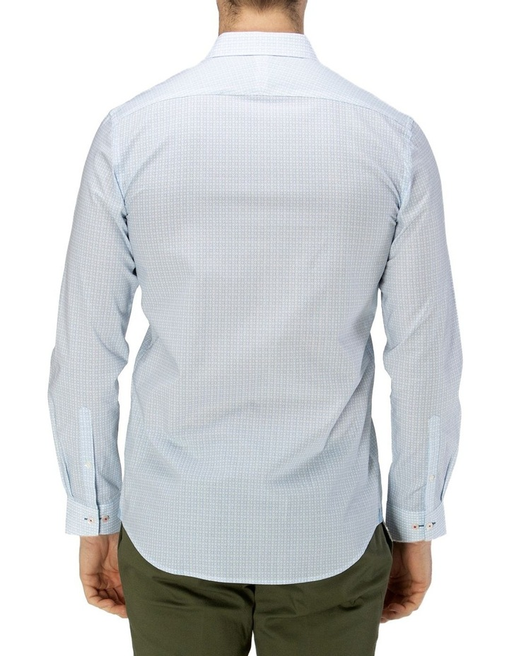 Luxe Geo Print Business Shirt image 3