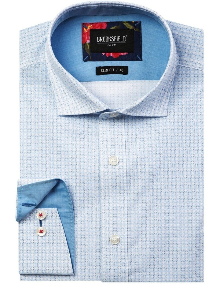 Luxe Geo Print Business Shirt image 4