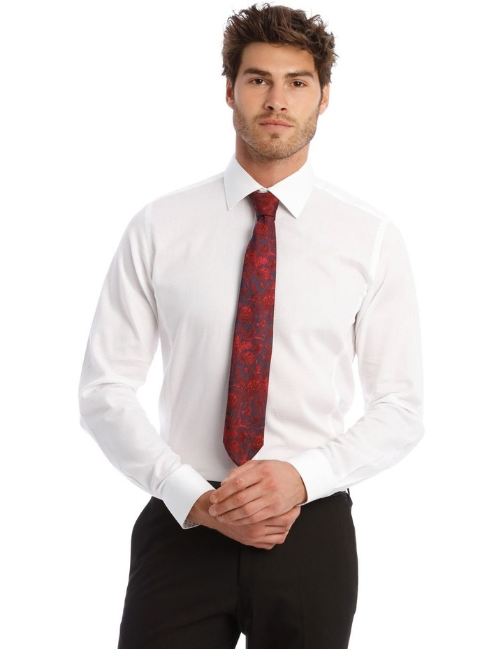 Self Microcheck Business Shirt image 1