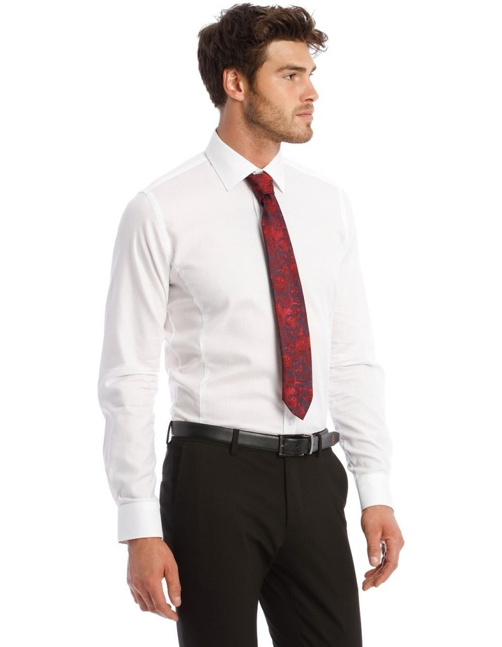Self Microcheck Business Shirt image 2