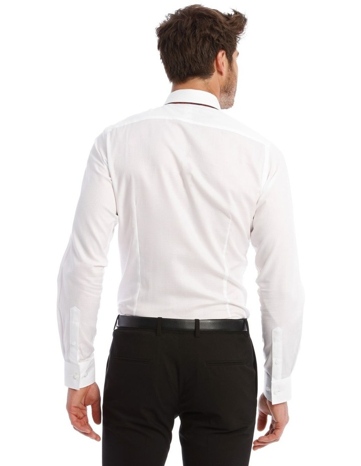 Self Microcheck Business Shirt image 3