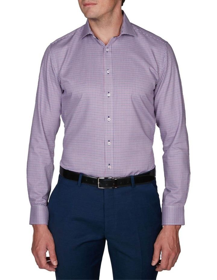 Zig-Zag Gingham Business Shirt image 1