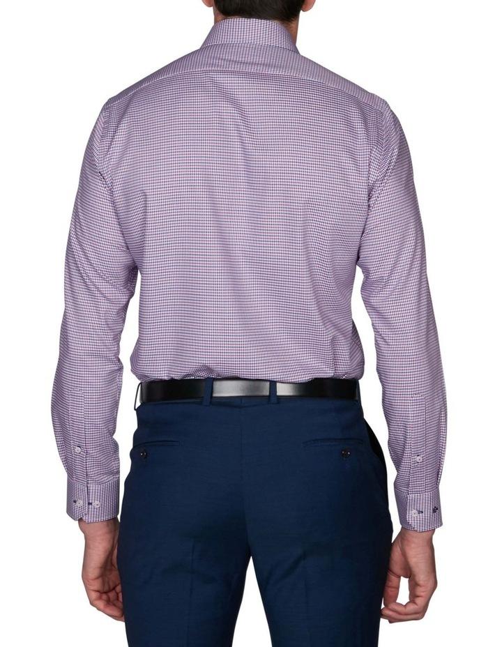 Zig-Zag Gingham Business Shirt image 2