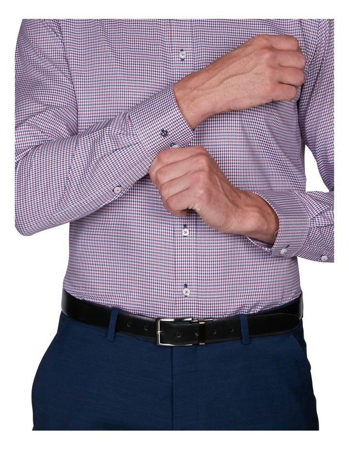 Zig-Zag Gingham Business Shirt image 4