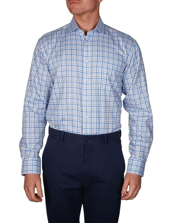 Sateen Check Business Shirt image 1