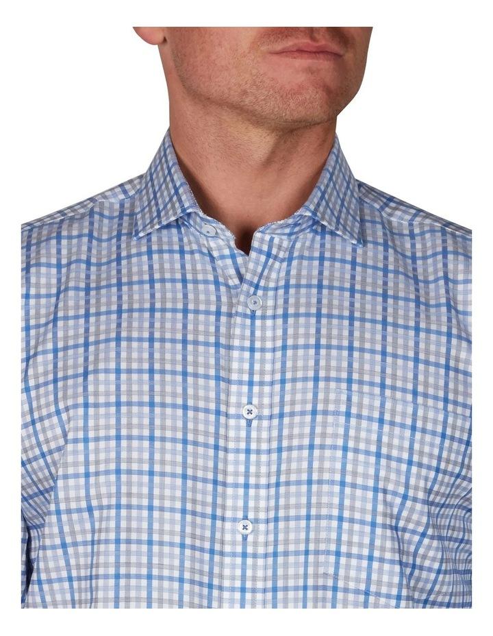 Sateen Check Business Shirt image 2