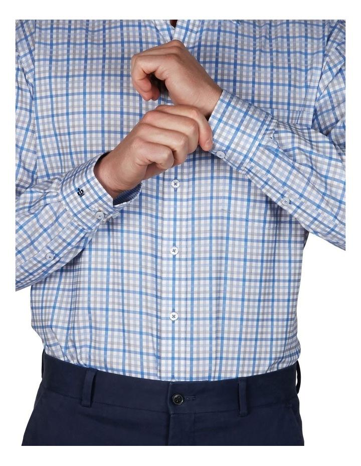 Sateen Check Business Shirt image 3