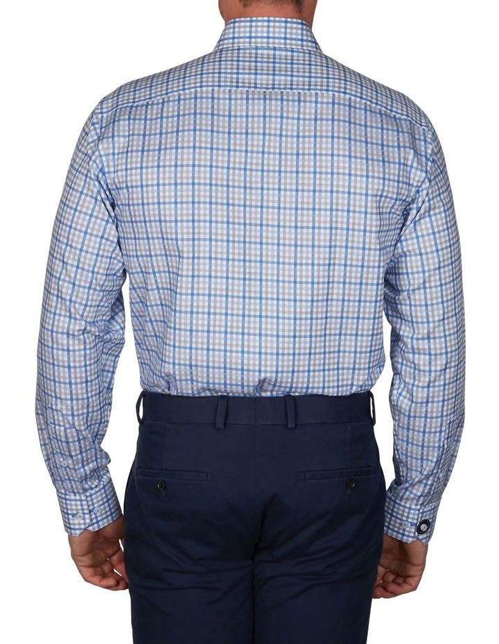 Sateen Check Business Shirt image 4