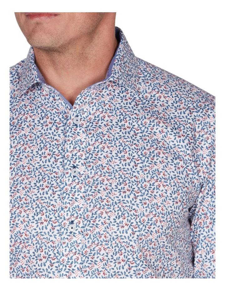 Berry Print Business Shirt image 3